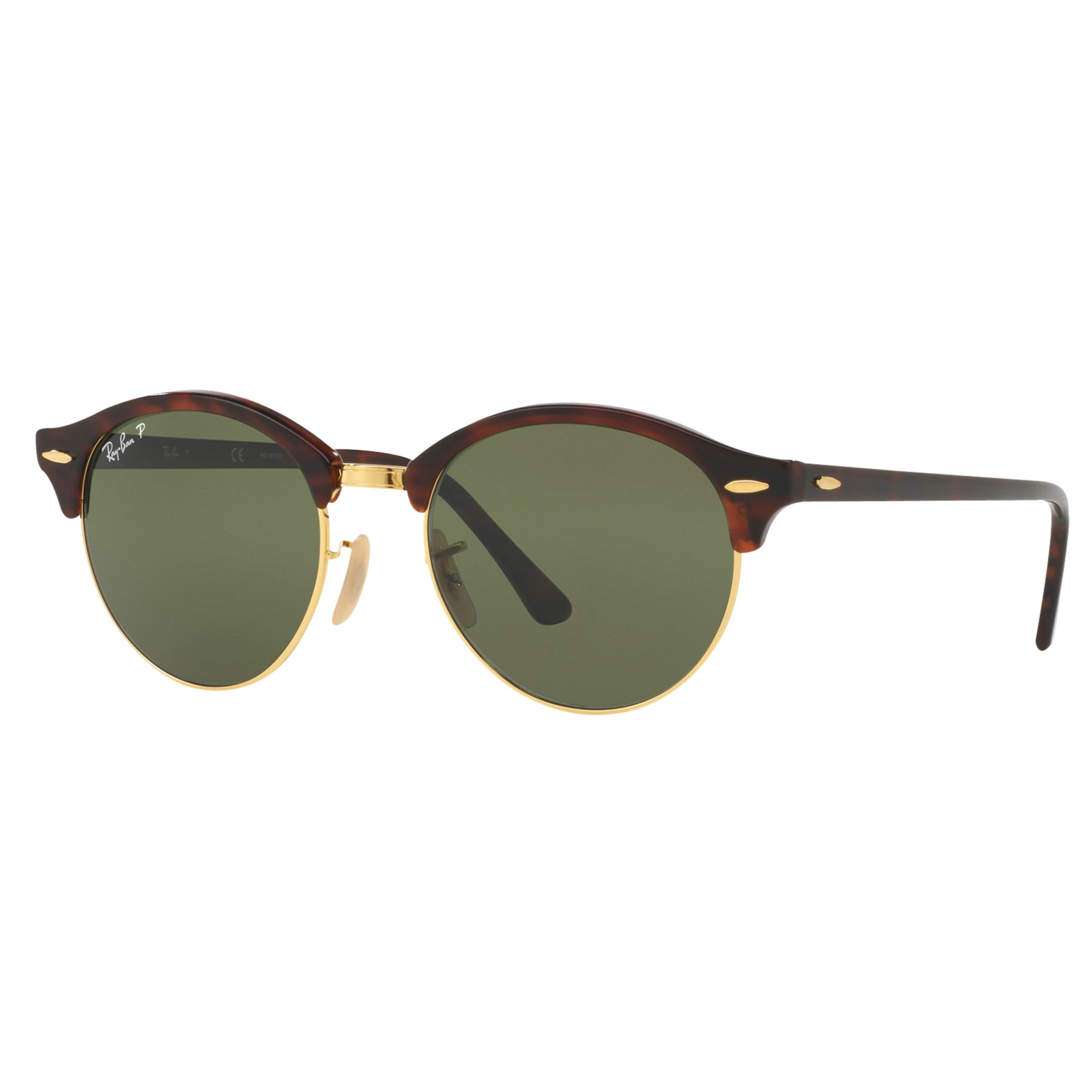 Ray-ban Ray-Ban RB4246 Clubround Polarised Round Sunglasses