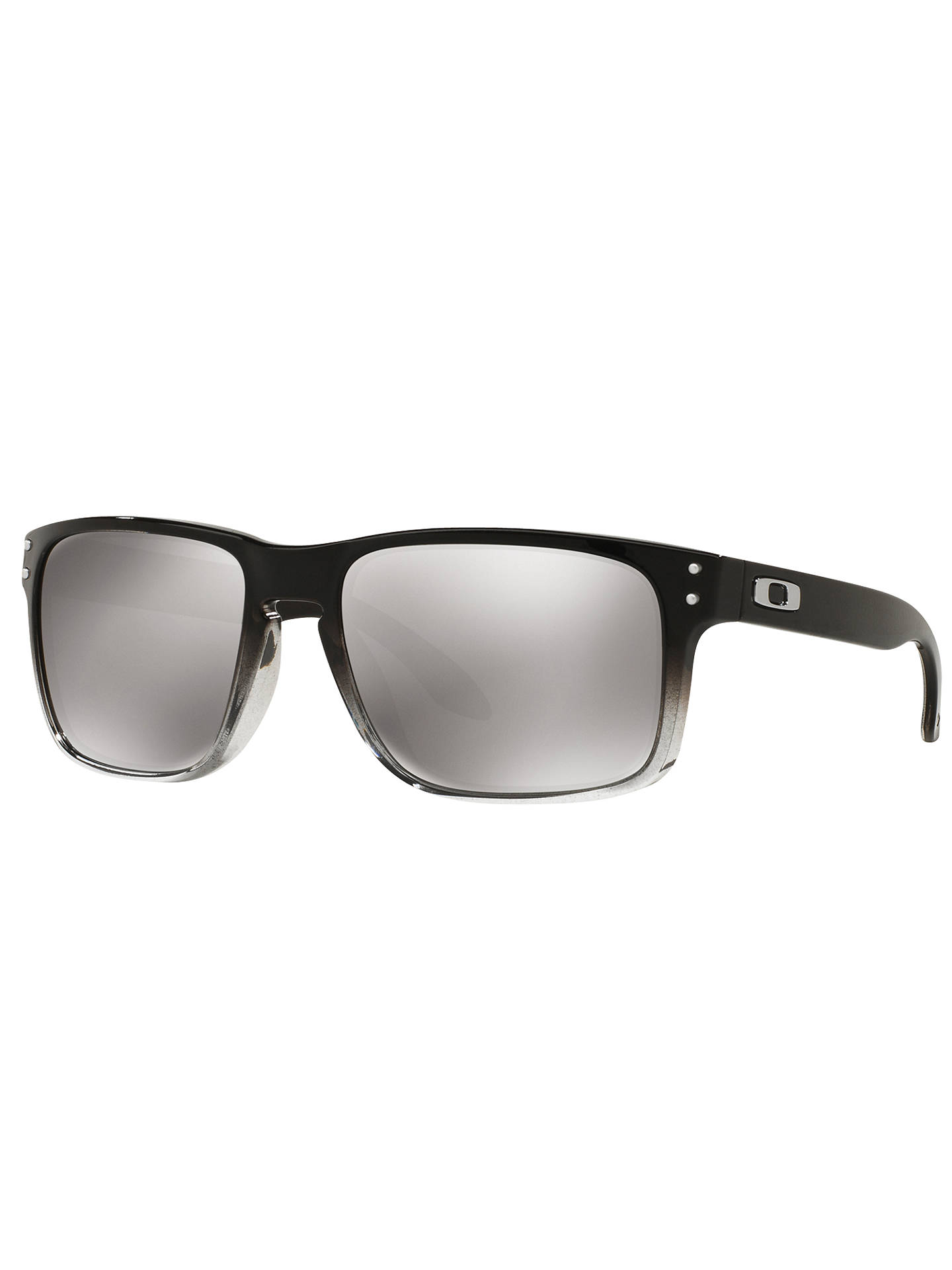 BuyOakley OO9102 Holbrook Polarised Square Sunglasses, Silver Online at johnlewis.com