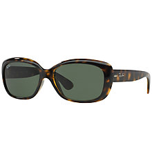 Buy Ray-Ban RB4101 Jackie Ohh Rectangular Sunglasses Online at johnlewis.com