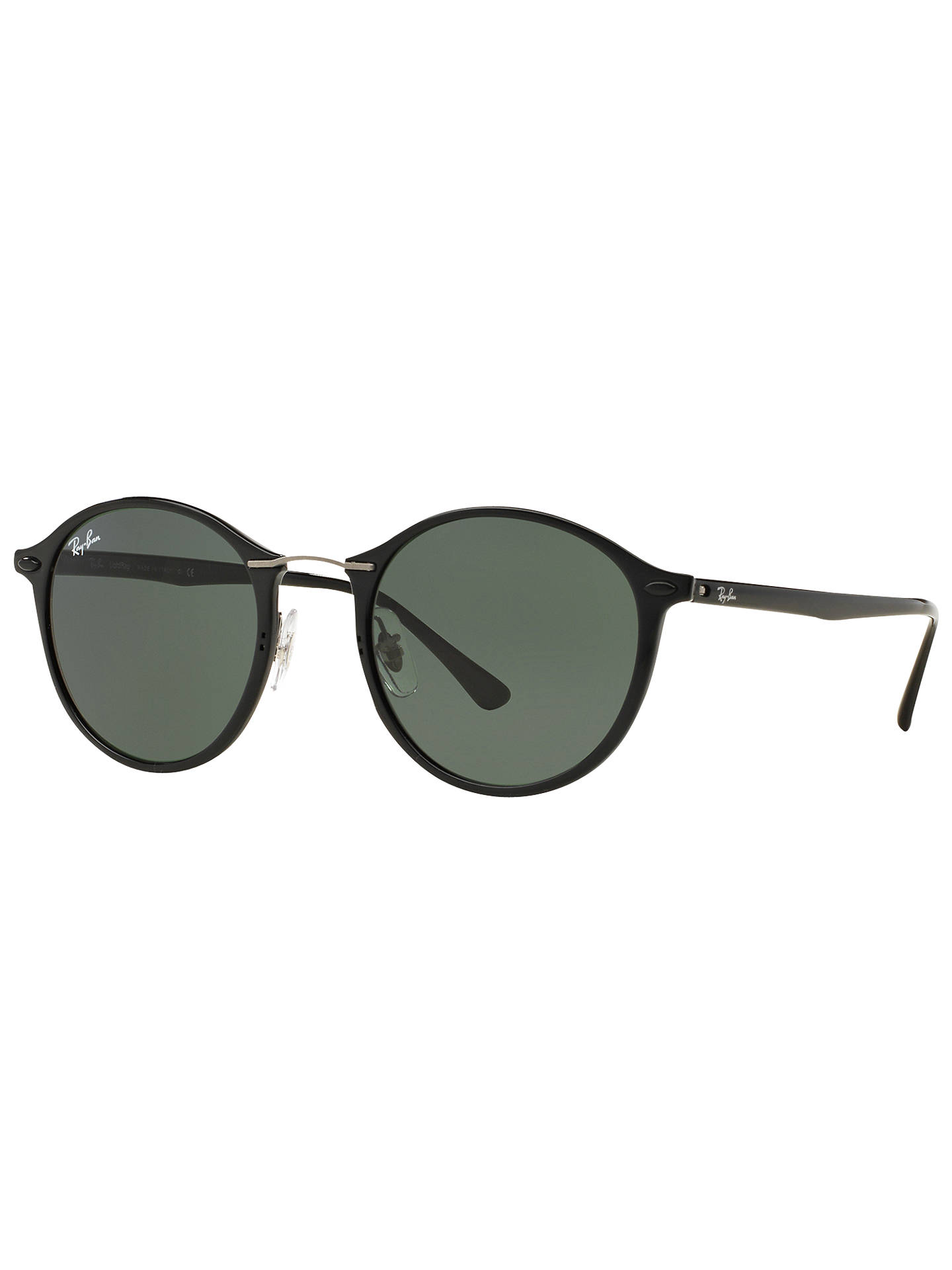 a64e61849e2 50% off ray ban rb4242 sunglasses on model a378b 55dfd  new arrivals buyray ban  rb4242 round sunglasses black dark green online at johnlewis c7333 5d1a7