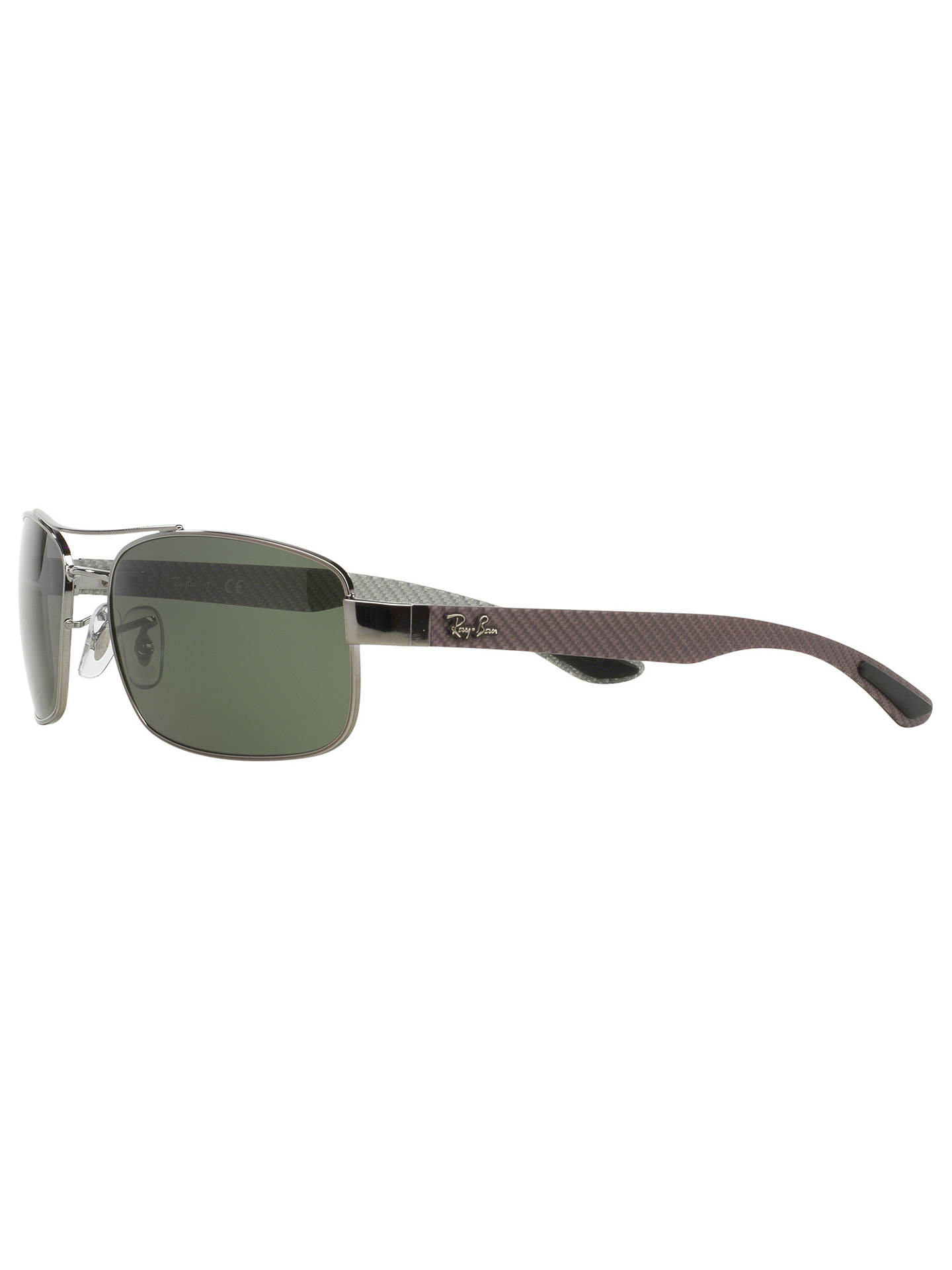 3022f904fc ... BuyRay-Ban RB8316 Tech Carbon Fibre Rectangular Sunglasses