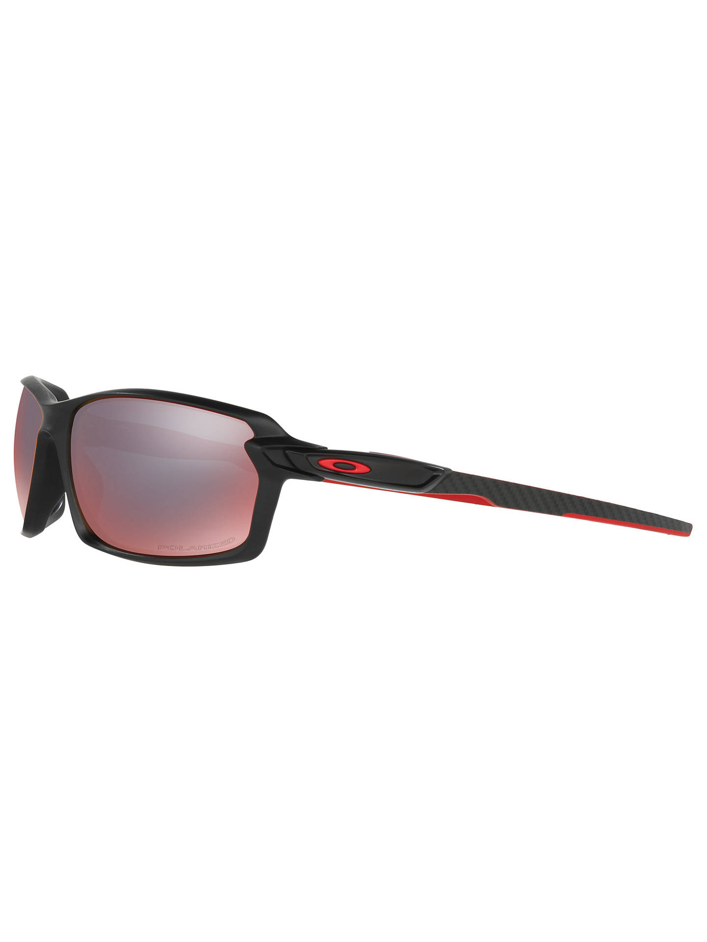 995c93baeb Oakley OO9302 Carbon Shift Polarised Rectangular Sunglasses at John ...