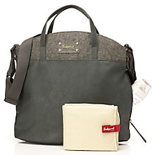 Buy Babymel Grace Faux Leather Changing Bag, Grey Online at johnlewis.com