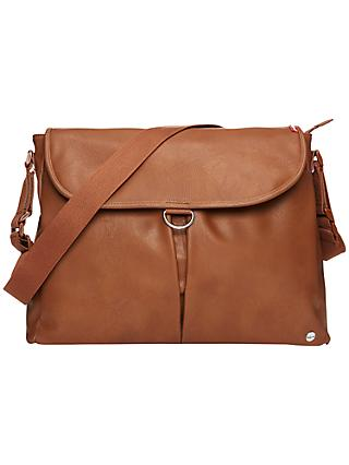 Babymel Ally Vegan Leather Changing Bag, Tan