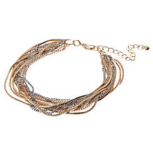 Buy Adele Marie Multi Row Fine Chain Bracelet Online at johnlewis.com