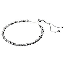 Buy Adele Marie Adjustable Textured Beaded Bracelet Online at johnlewis.com