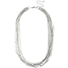 Buy Adele Marie Multi Row Fine Chain Necklace Online at johnlewis.com