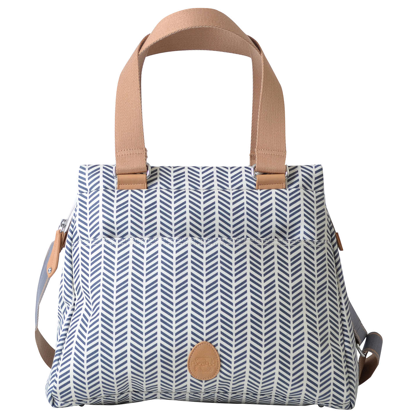BuyPacaPod Richmond Herringbone Changing Bag, Navy Online at johnlewis.com