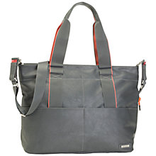 Buy Storksak Eden Changing Bag, Grey Online at johnlewis.com