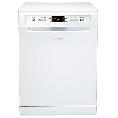 Image of Hotpoint EcoTech FDFET33121P Freestanding Dishwasher, Polar White