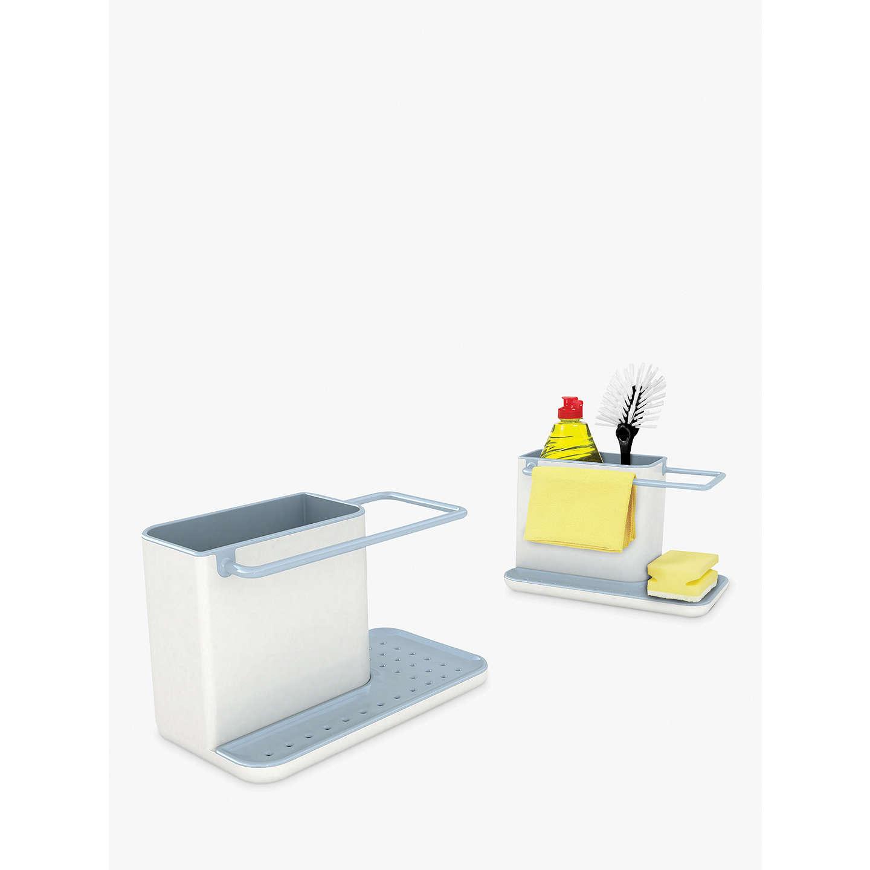 joseph joseph sink caddy blue grey at john lewis. Black Bedroom Furniture Sets. Home Design Ideas