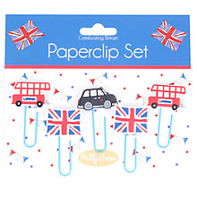 Buy Milly Green Celebration of Britain London Paperclips, Set of 5 Online at johnlewis.com