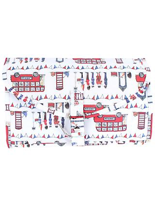Milly Green Celebration of Britain London Bus Wash Bag, Multi