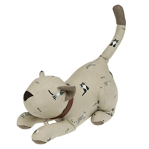 Buy sophie allport cat door stop john lewis - Cat door stoppers ...