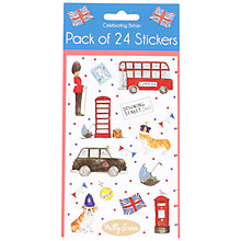 Buy Milly Green London Bus Stickers, Pack of 24 Online at johnlewis.com