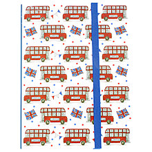 Buy Milly Green Celebration of Britain London Bus A6 Notebook Online at johnlewis.com
