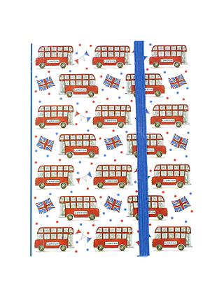 Milly Green Celebration of Britain London Bus A6 Notebook