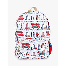 Buy Milly Green Celebration of Britain London Backpack, Multi Online at johnlewis.com
