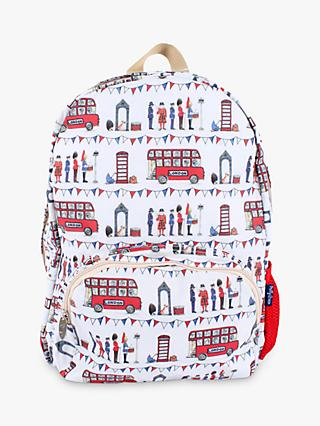 Milly Green Celebration of Britain London Backpack, Multi