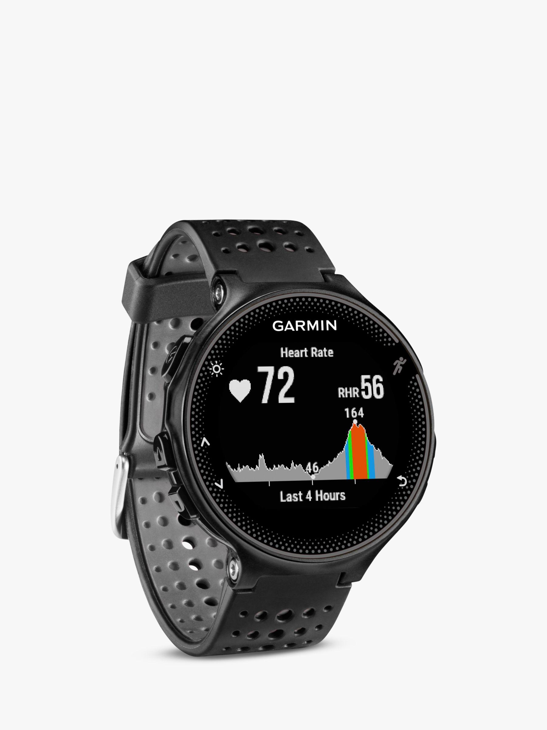Garmin Forerunner 235 With Wrist Based Heart Rate Technology Black