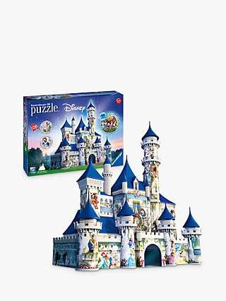Ravensburger Disney Castle 3D Jigsaw Puzzle, 216 Pieces