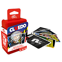 Buy Shuffle Cluedo Card Game Online at johnlewis.com