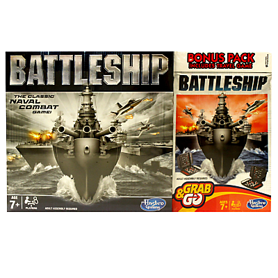 Image of Battleship Full Board & Travel Games