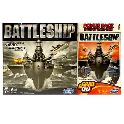Battleship Full Board & Travel Games