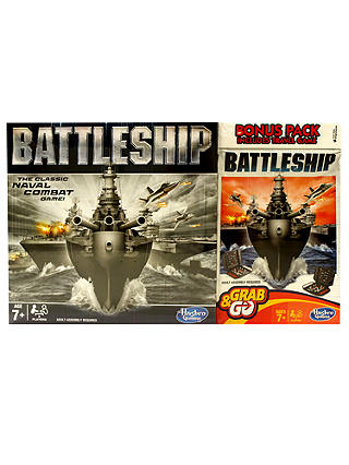 Buy Battleship Board Game Includes Full Game & Travel Game Online at johnlewis.com