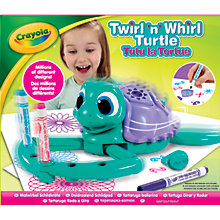 Buy Crayola Twirl 'N Whirl Turtle Online at johnlewis.com