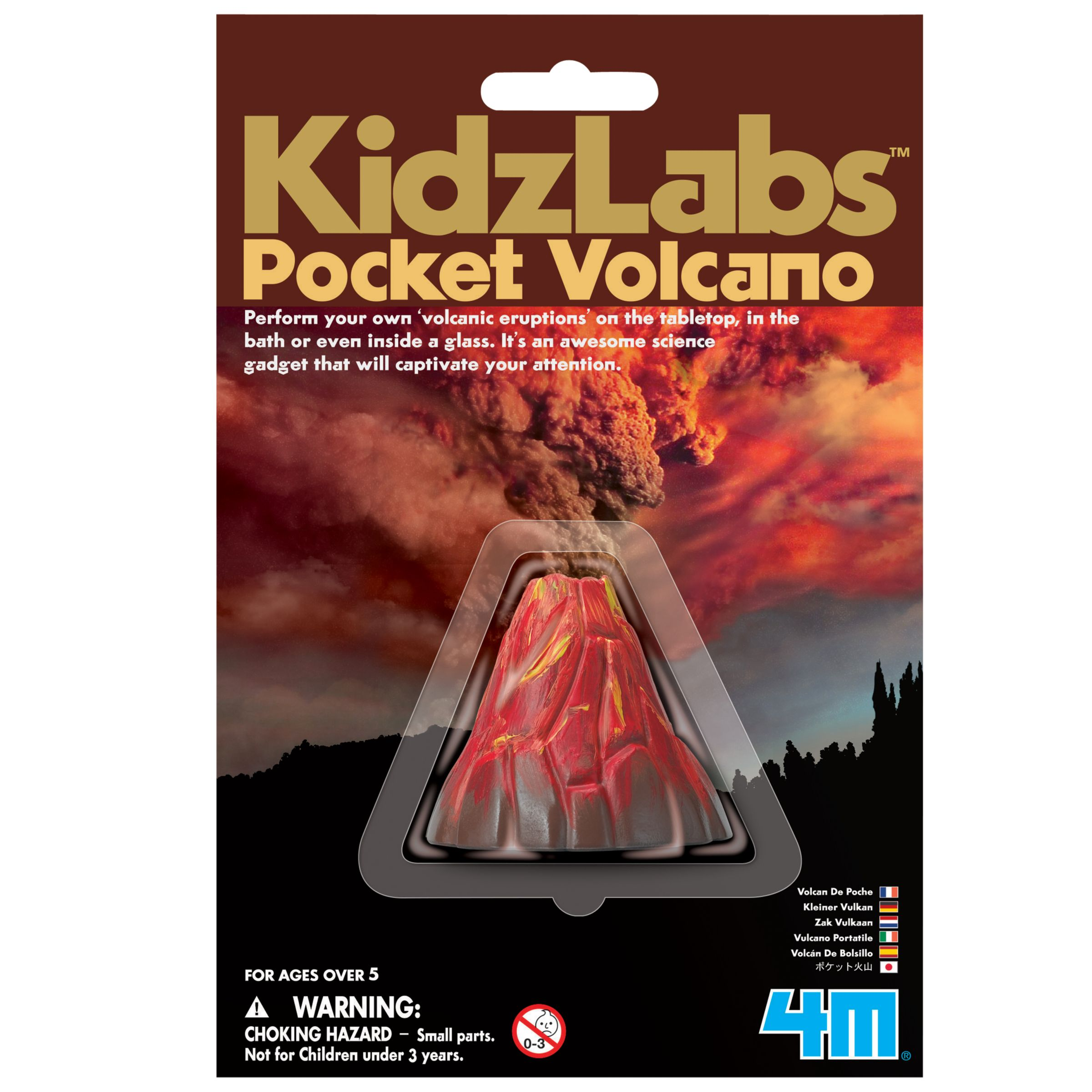 Great Gizmos Kidz Labs Pocket Volcano