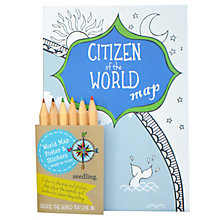 Buy Seedling Citizens of the World Map Online at johnlewis.com