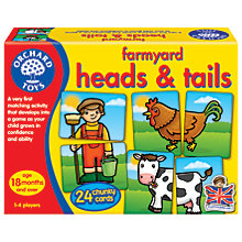 Buy Orchard Toys Farmyard Heads and Tails Game Online at johnlewis.com