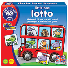 Buy Orchard Toys Little Bus Lotto Game Online at johnlewis.com
