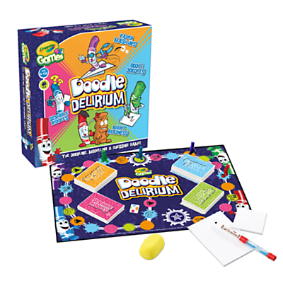 Crayola Games Doodle Delirium