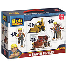 Buy Bob The Builder 4-in-1 Shaped Puzzles Online at johnlewis.com