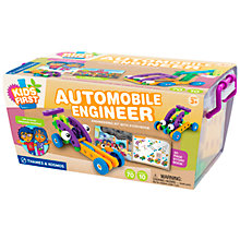 Buy Thames & Kosmos Kids' First Automobile Engineer Kit With Storybook Online at johnlewis.com