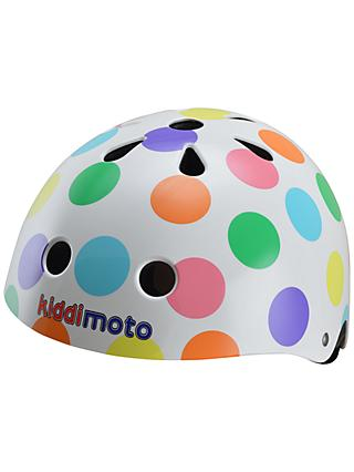 Kiddimoto Pastel Dotty Helmet, Medium