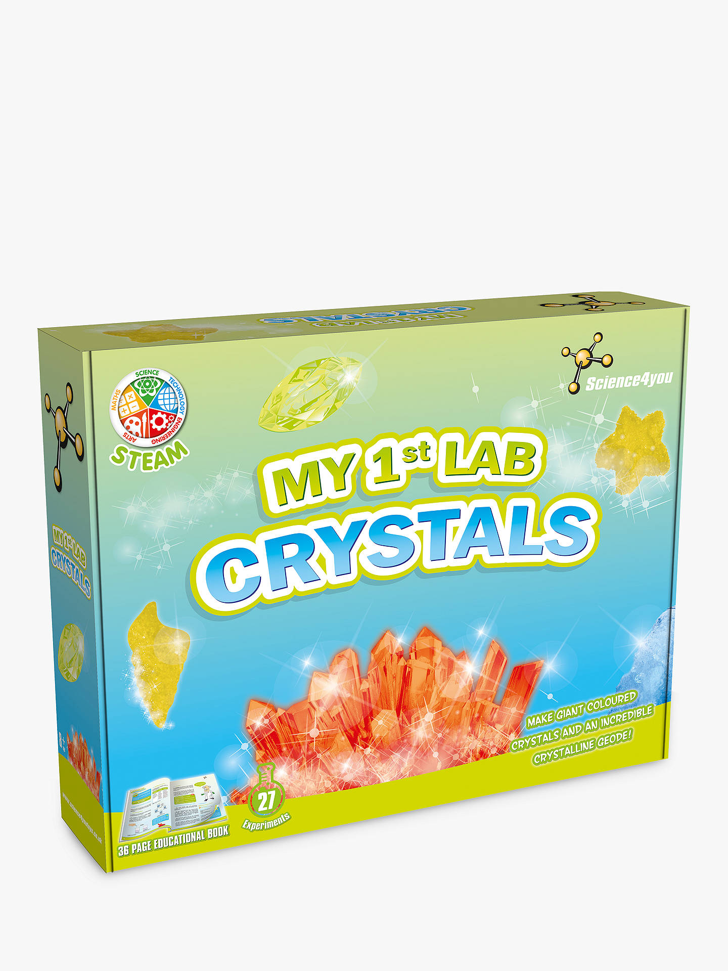 Buy Science4you My 1st Lab Crystals Kit Online at johnlewis.com