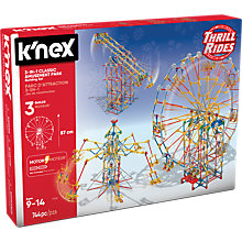 Buy K'Nex Classic Amusement Park 3 In 1 Building Set Online at johnlewis.com