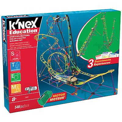 Image of K'Nex Education STEM Explorations Roller Coaster Building Set