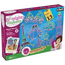 Buy K'Nex Mighty Makers World Travels Building Set Online at johnlewis.com