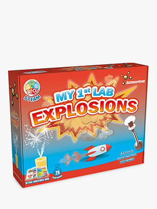 Buy Science4you My 1st Lab Explosions Kit Online at johnlewis.com