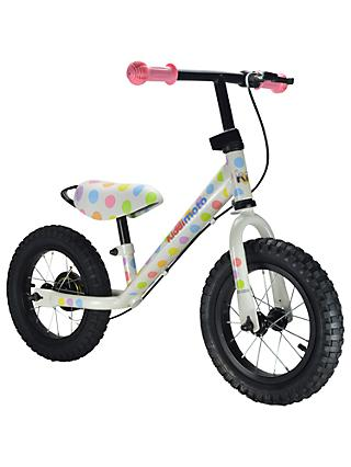 Kiddimoto Super Junior Max Pastel Dot Balance Bike
