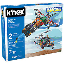 Buy K'Nex Turbo Jet 2 In 1 Building Set Online at johnlewis.com