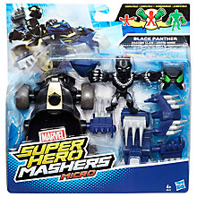 Buy Marvel Super Hero Mashers Shadow Claw Vehicle and Black Panther Figure Online at johnlewis.com