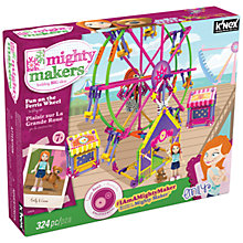 Buy K'Nex Mighty Makers Fun on the Ferris Wheel Building Set Online at johnlewis.com