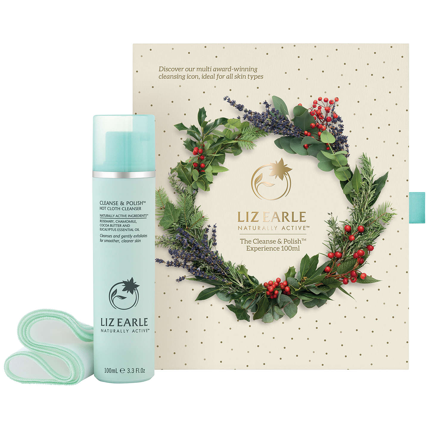 BuyLiz Earle The Cleanse & Polish™ Experience 100ml Skincare Gift Set Online at johnlewis.com