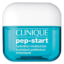 Buy Clinique Pep-Start Hydroblur Moisturiser, 50ml Online at johnlewis.com
