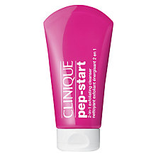 Buy Clinique Pep-Start 2-in-1 Exfoliating Cleanser, 125ml Online at johnlewis.com